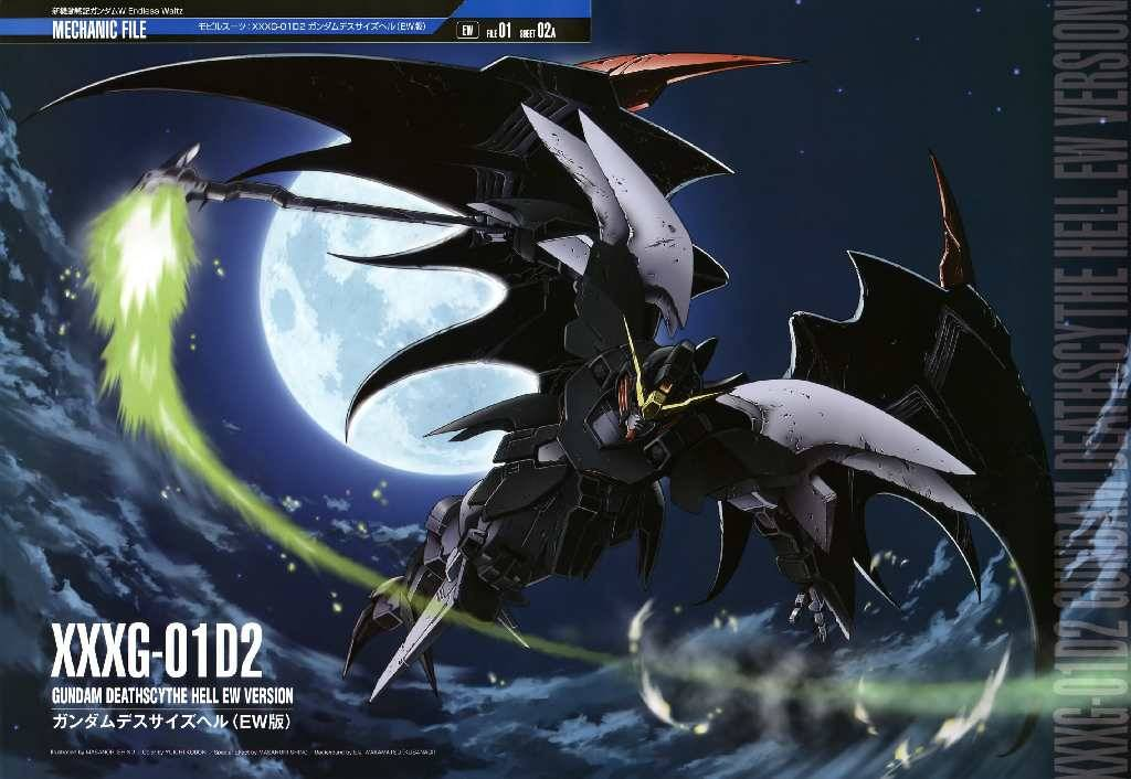 49 Gundam Wing Deathscythe Wallpaper On Wallpapersafari
