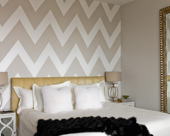 Faux Fur Wallpaper Bedroom Design Ideas Pictures Remodel Decor 550x440