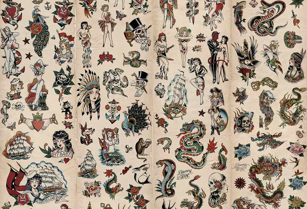 Tattoo Wallpaper - WallpaperSafari