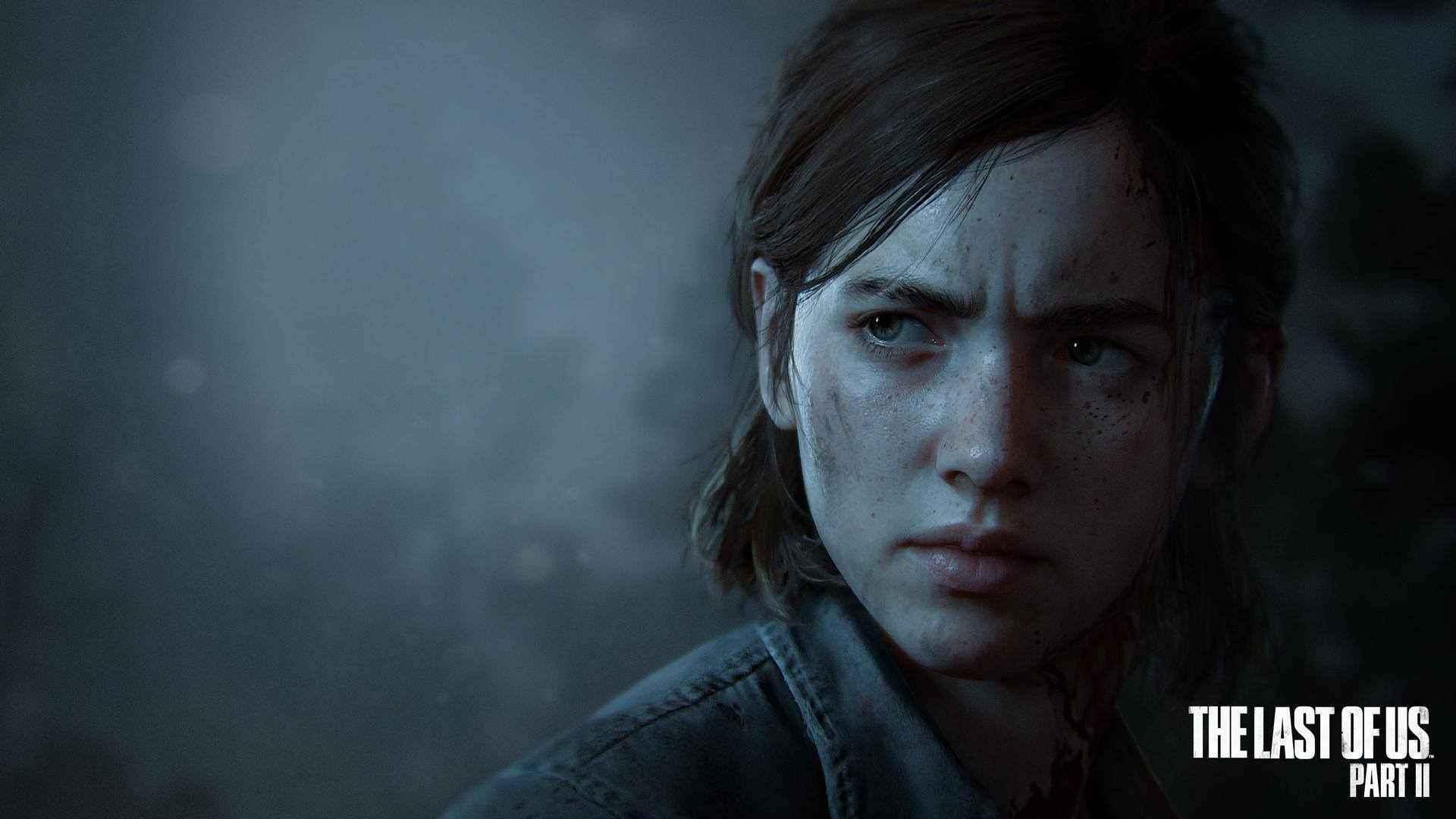 Download 1920x1080 The Last Of Us Part 2 Ellie Face Portrait 1920x1080