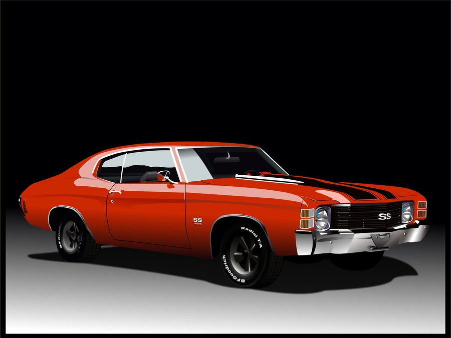 Chevrolet Chevelle SS 1971 by Snartistic 900x675