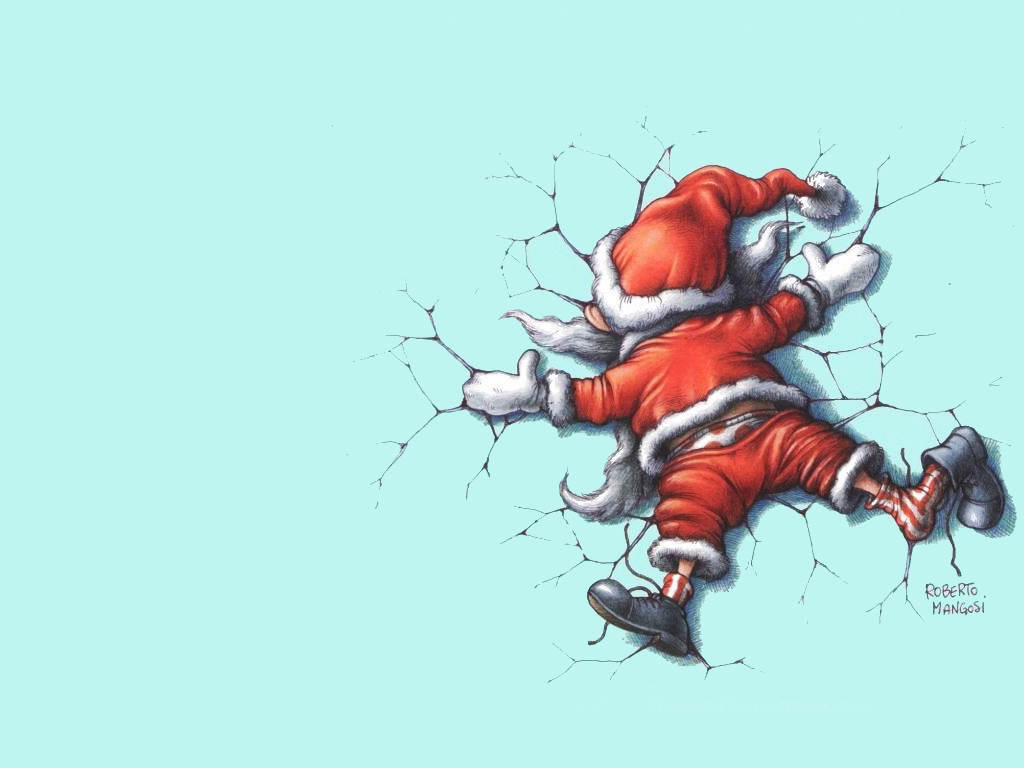Evil Christmas Wallpap...