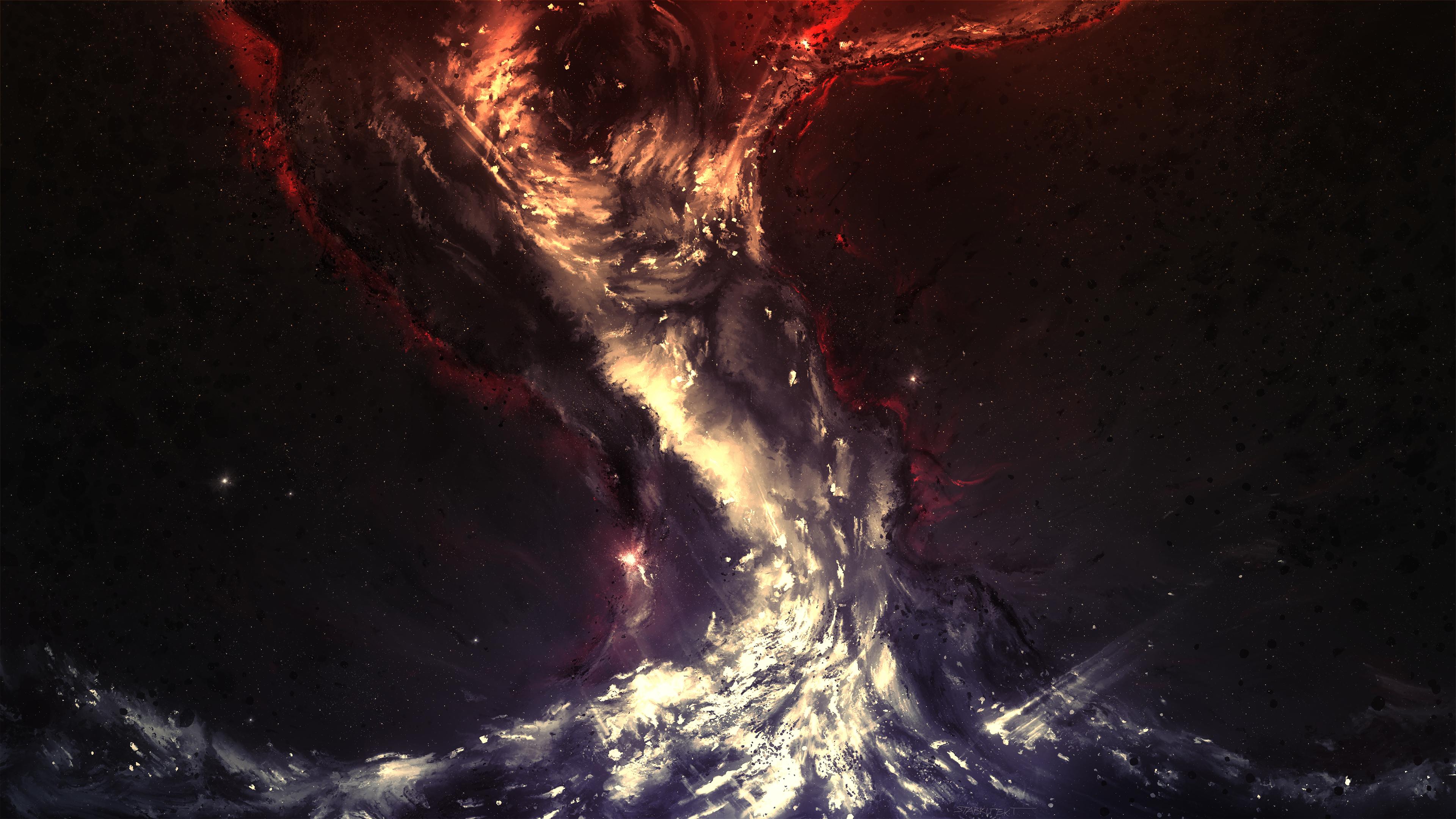 Wallpaper 3840x2160 space art universe 4K Ultra HD HD Background 3840x2160