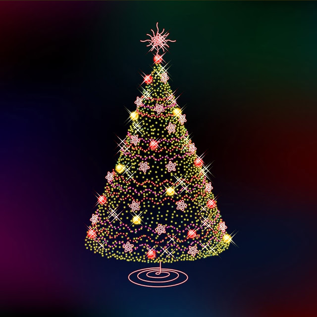 iPad Wallpapers Download Christmas Tree iPad mini Wallpapers 640x640
