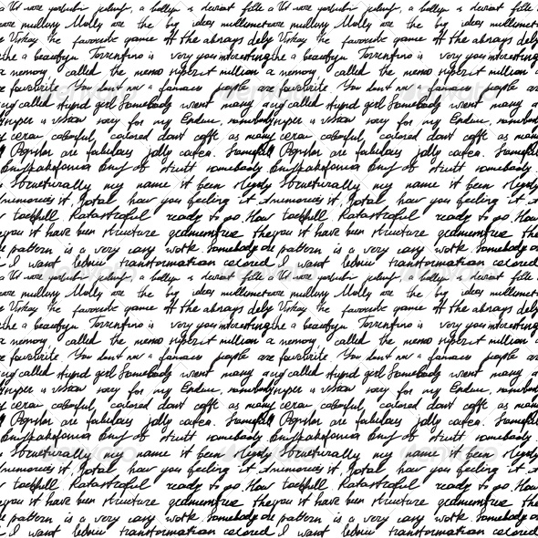 Wallpaper With Cursive Words