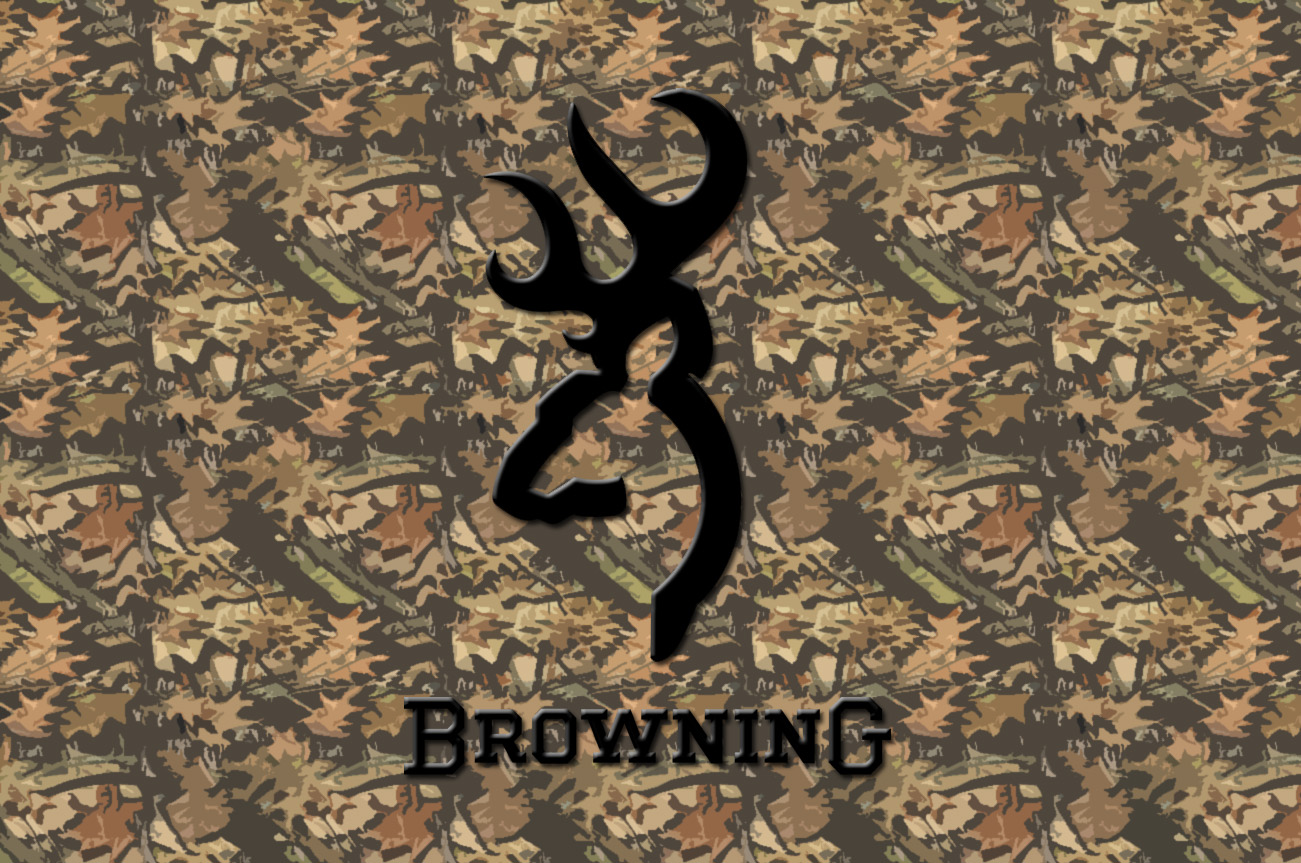 camo browning logo wallpaper