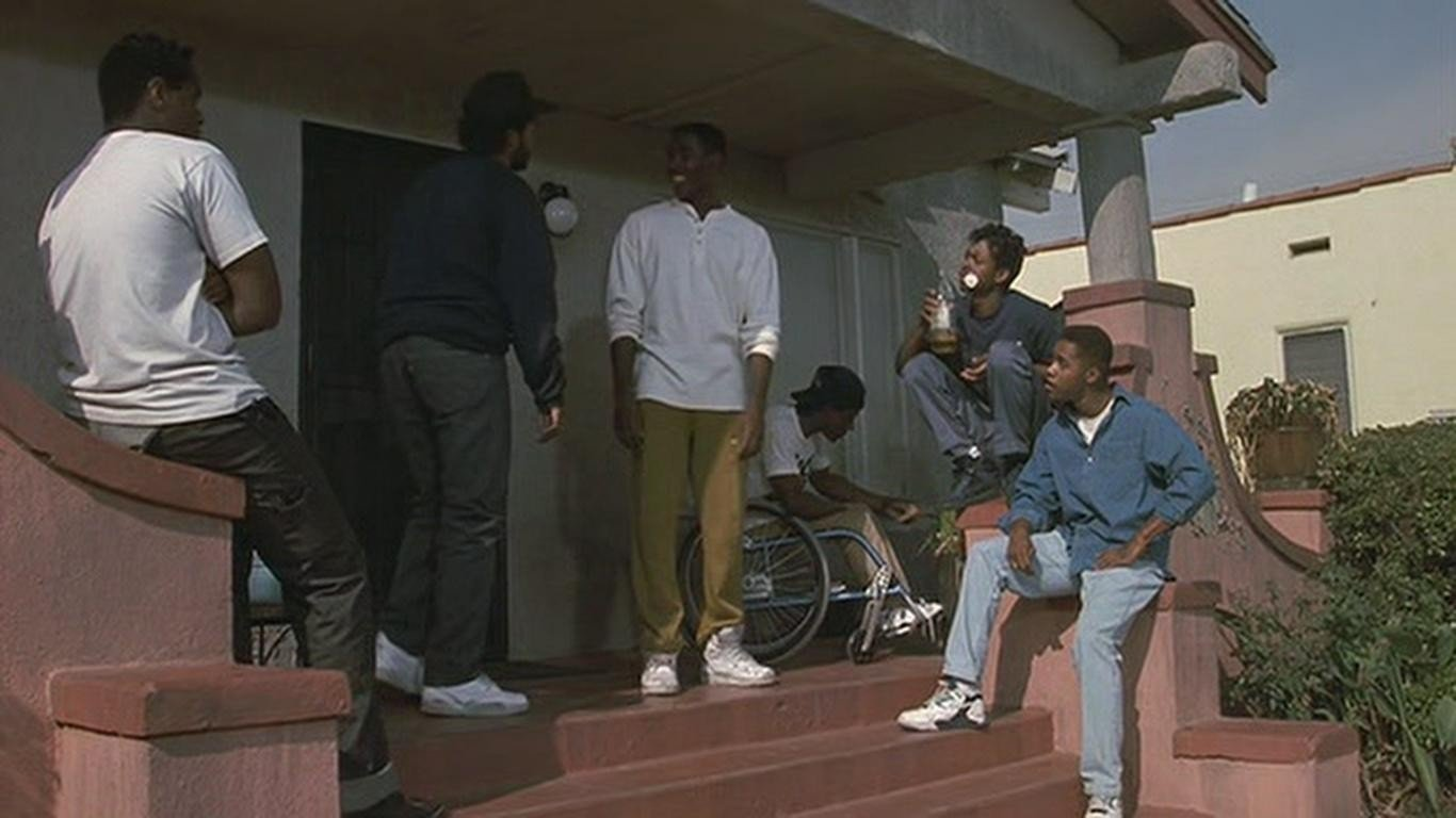 boyz in the hood movie review essay Boyz in the hood is a movie set in a black neighbourhood in south central los  angeles, california it depicts the reality that young black men face, which is the.