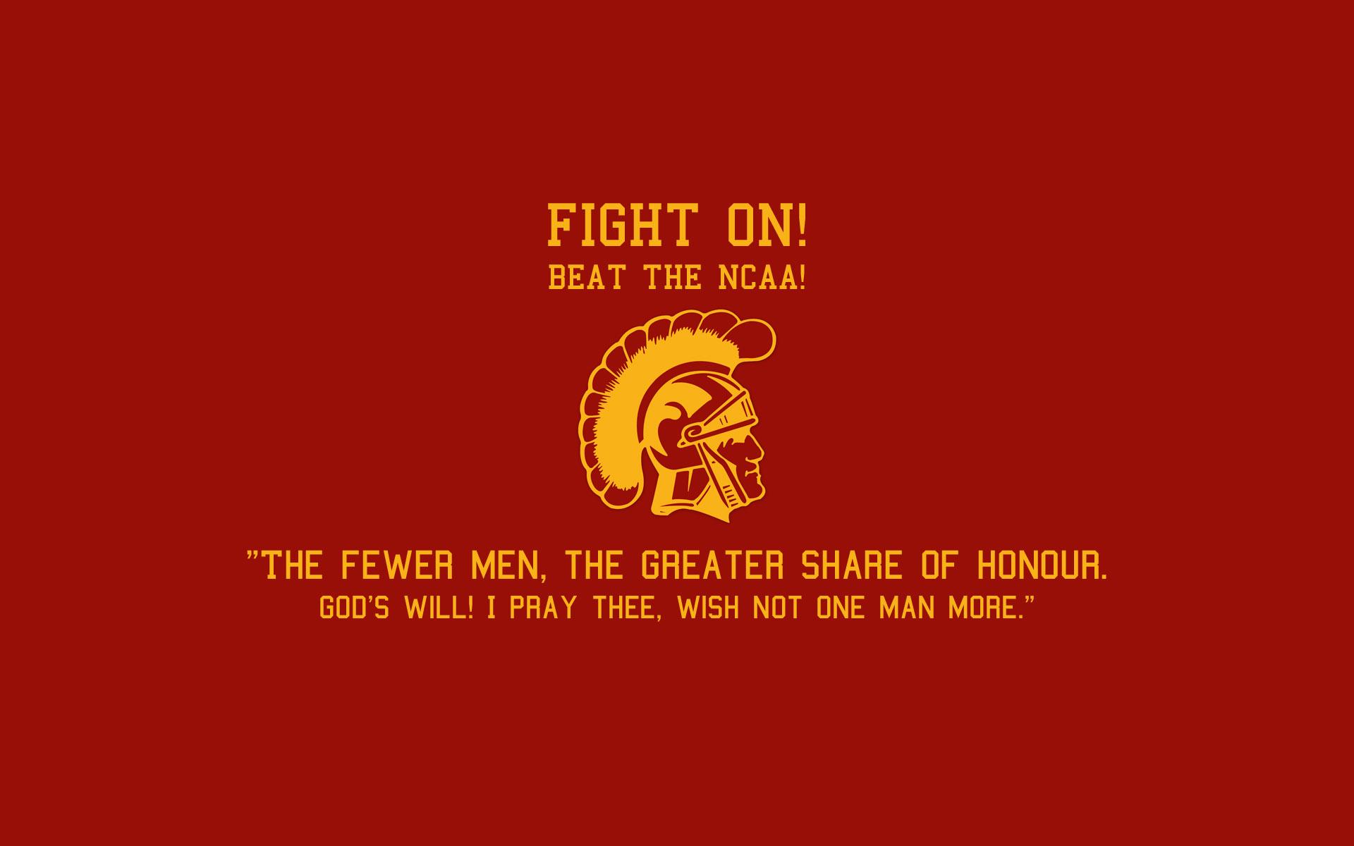 Usc Trojans Fight On Wallpaper USC Trojans Desktop Wa...