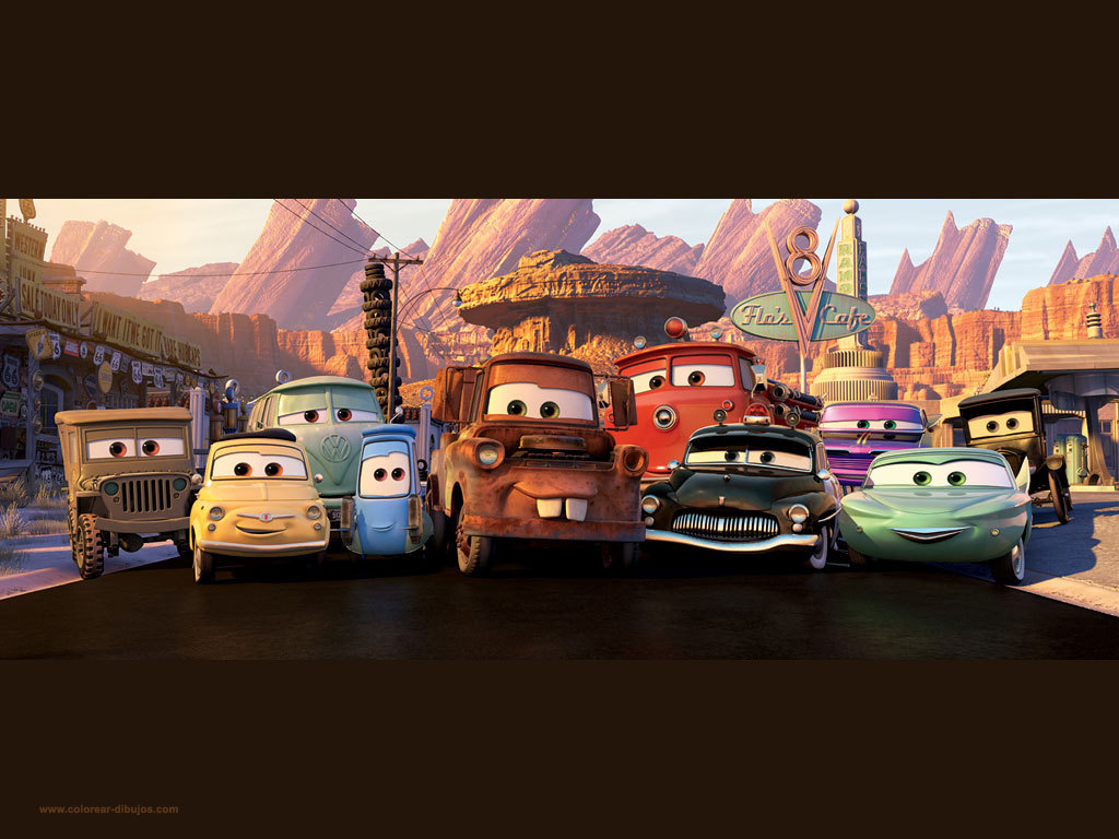Disney Cars wallpaper 2   Disney Pixar Cars Wallpaper 13374880 1024x768