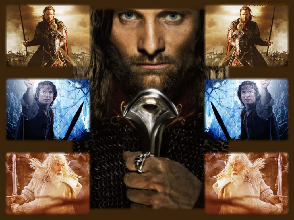 Animaatjes lord of the rings 52480 Wallpaper 1024x768