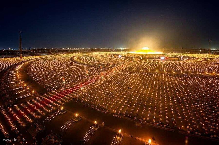 Wat Phra Dhammakaya Arranged the Ceremonies of Offering 900x598