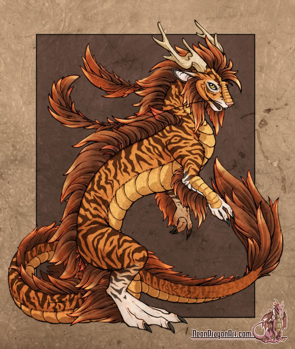 Tiger Dragon Graphics Code Tiger Dragon Comments Pictures 600x711