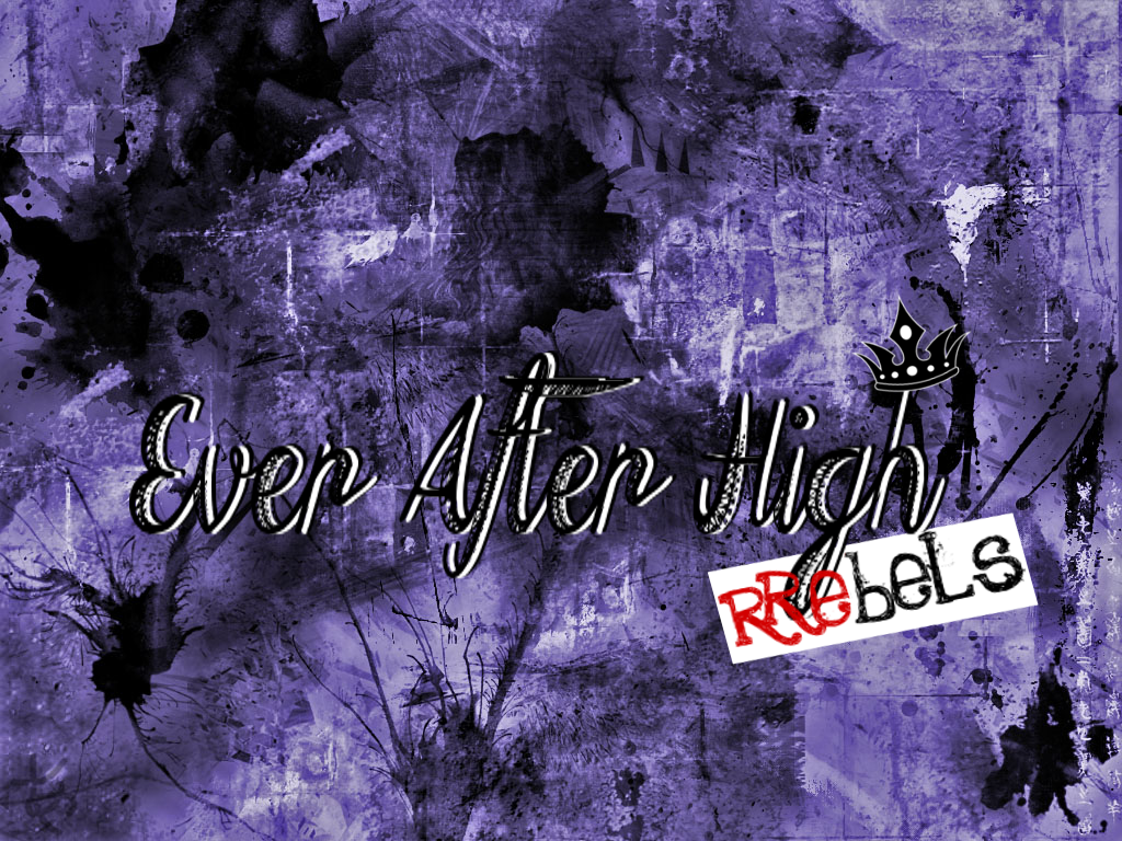 Ever After High Rebels Logo Wallpaper by Wizplace 1024x768