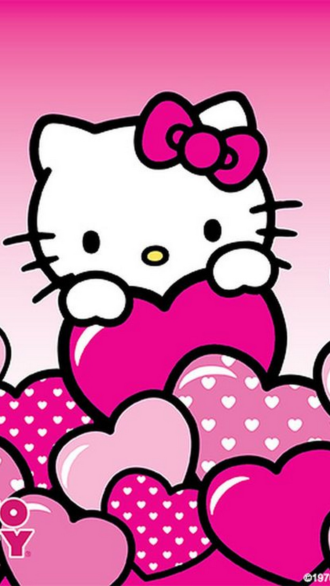 Free Wallpaper IPhone Hello Kitty 2019 3D IPhone