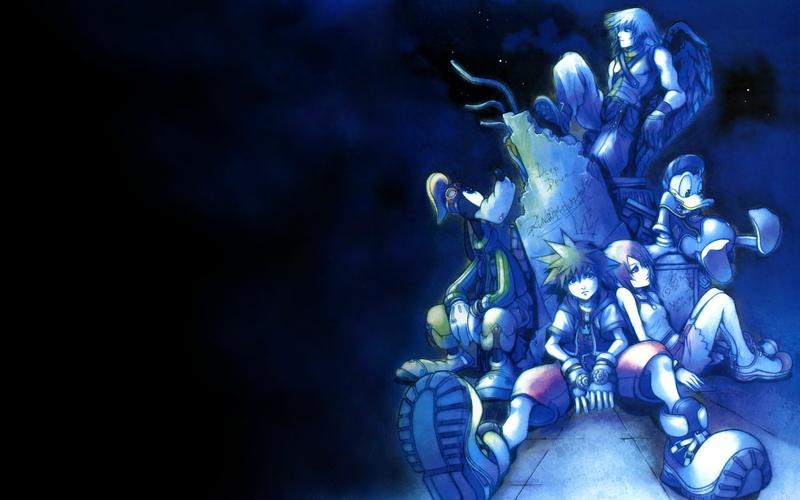 blue kingdom hearts 1280x800 wallpaper Video Games Kingdom Hearts 800x500