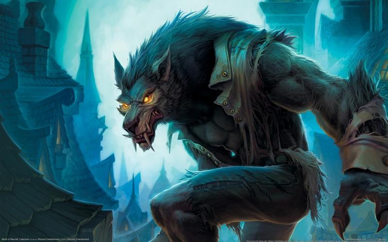 Werewolf wallpaper Wallpaper Wide HD 800x500