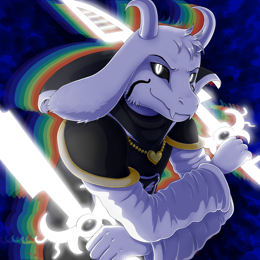 Free Download Asriel Dreemurr By Evomanaphy 1024x1024 For