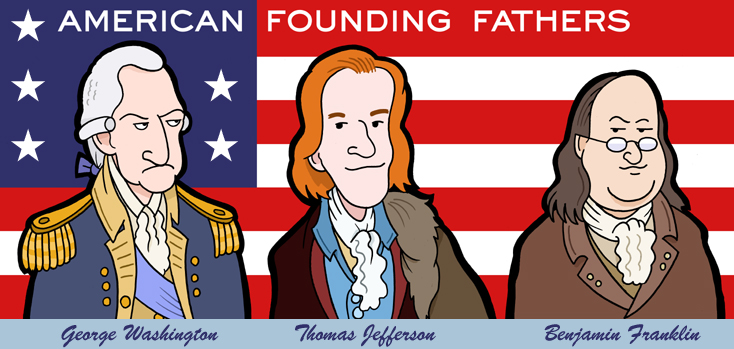 Founding Fathers Wallpaper Founding fathers by 734x349