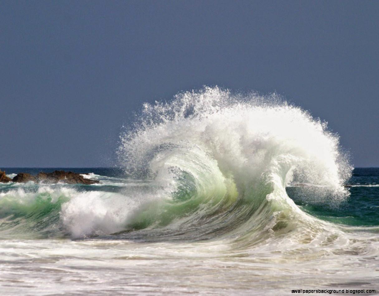 Beach Waves Wallpapers For Desktop Beach Waves: Ocean Beach Wallpaper For Computer