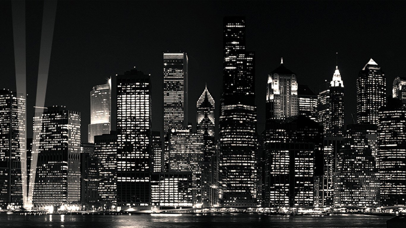 black and white city wallpaper wallpapersafari