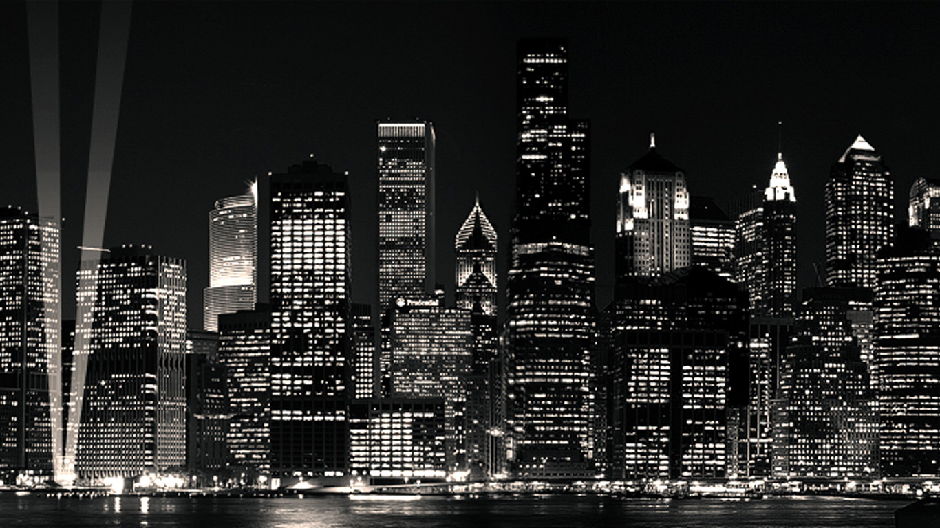 City Black And White Amazing Wallpapers