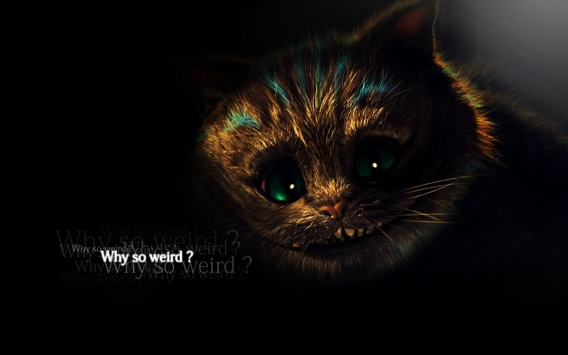 Cheshire Cat Wallpaper by TheHalfinger 1131x707
