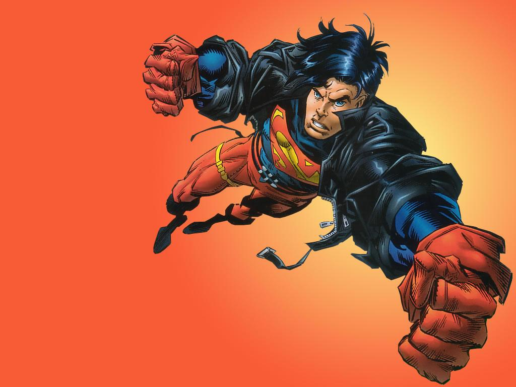 Superboy Wallpaper - WallpaperSafari