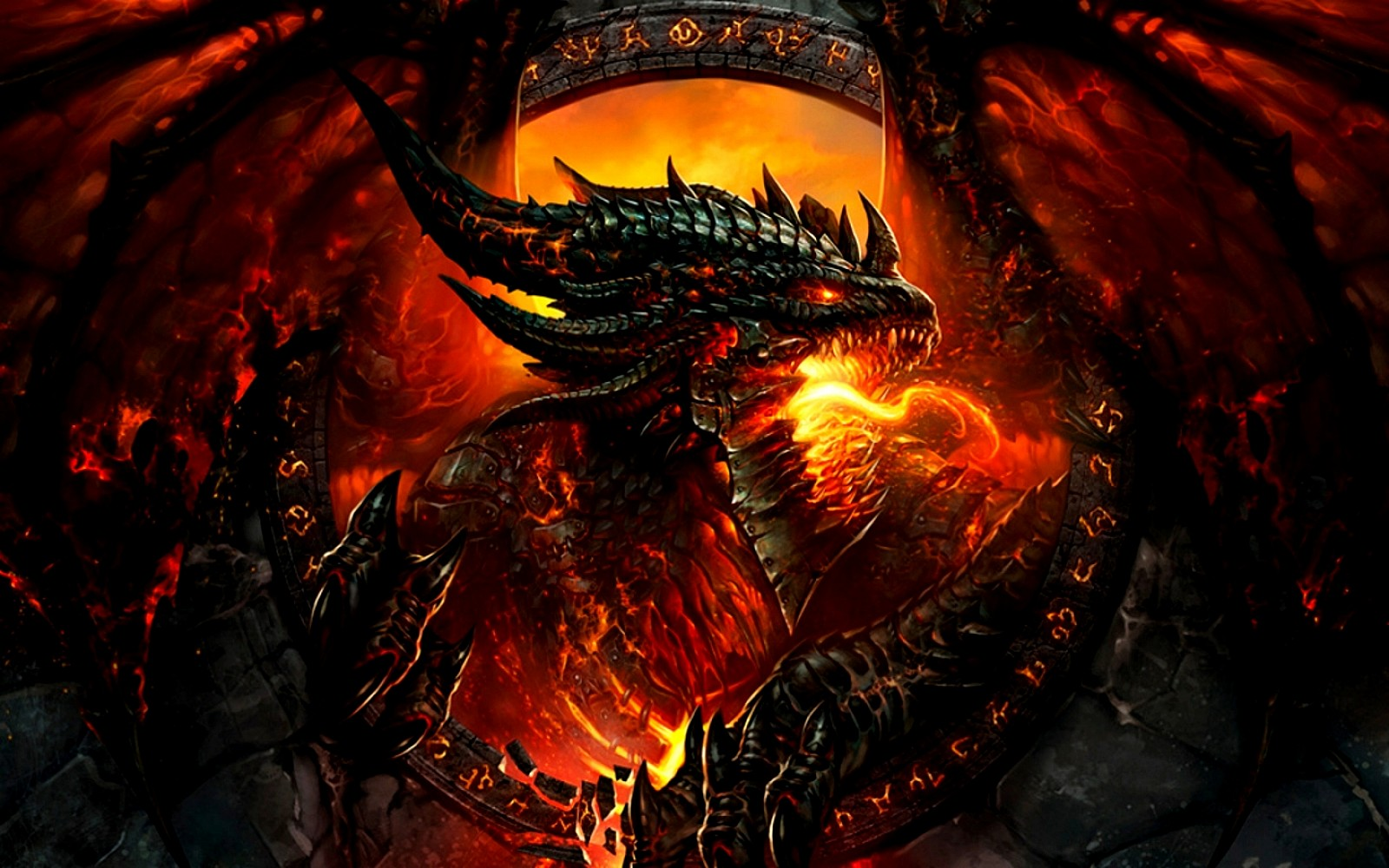 FunMozar 3D Dragon Wallpapers 1600x1000