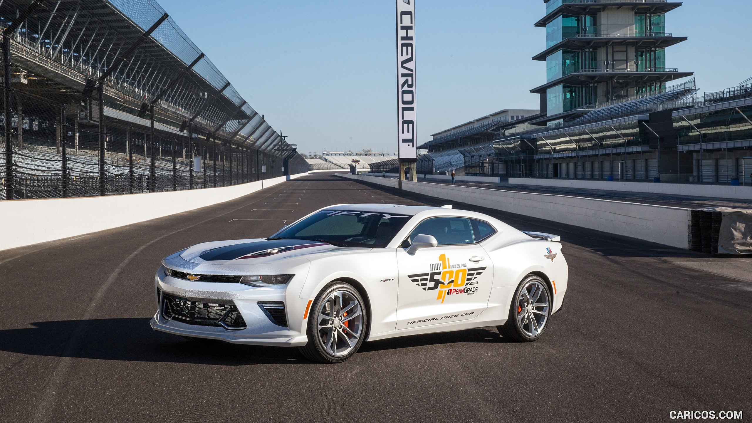 2016 Chevrolet Camaro SS Indy 500 Pace Car 2017 50th Anniversary 2560x1440
