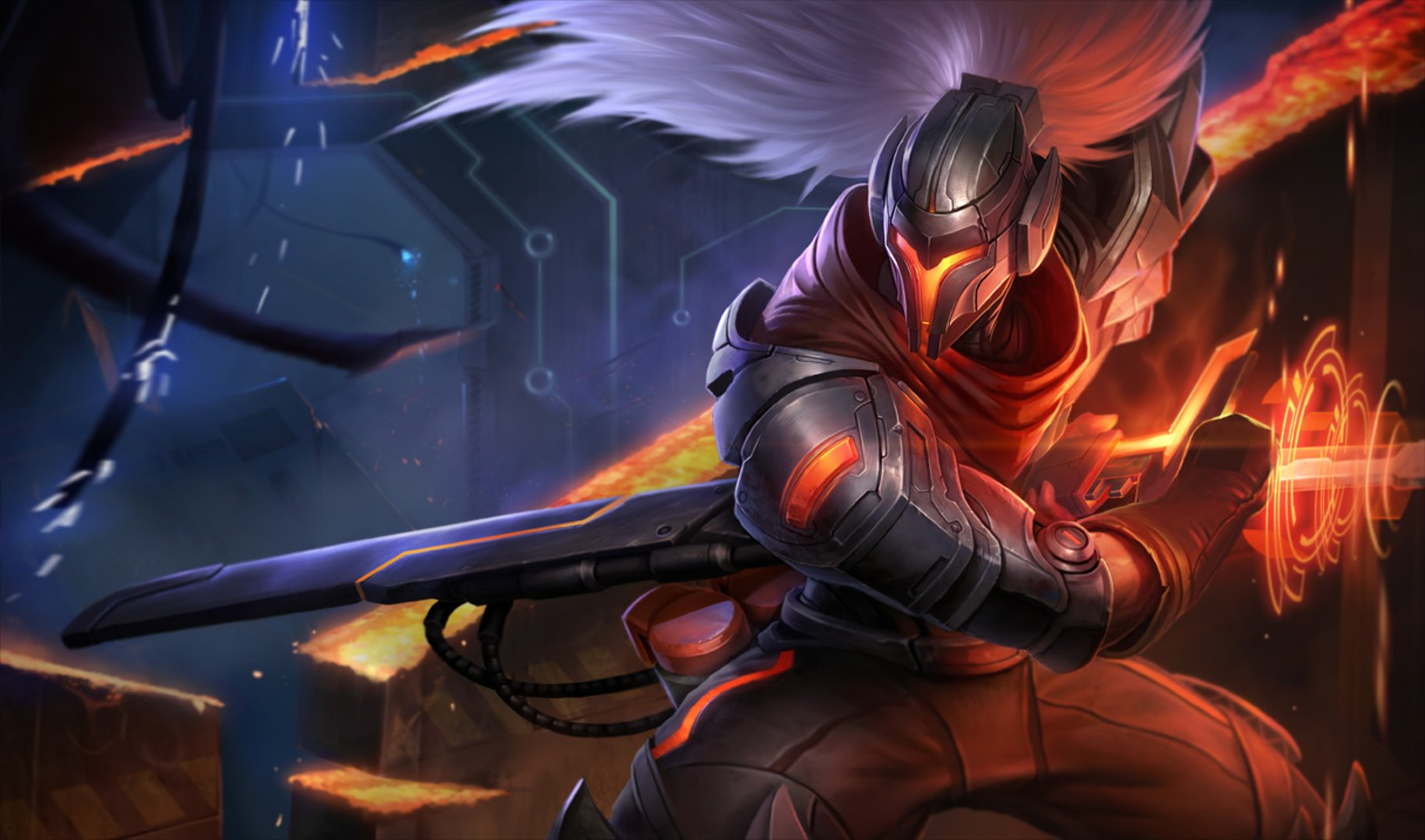 Yasuo Project Skin wallpaper 1830x1080 947827 WallpaperUP 1830x1080
