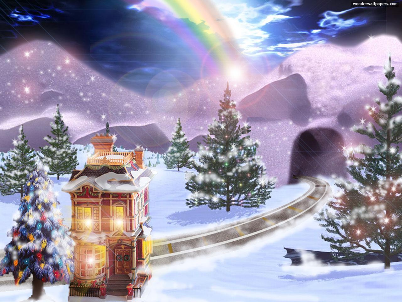 Desktop Christmas wallpaper hd christmas wallpaper nightmare before 1280x960