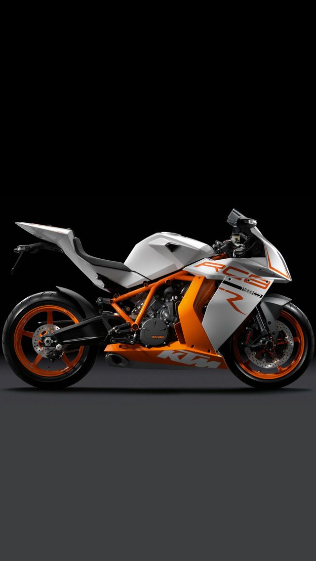 KTM RC8R Motorcycle   Best iPhone 5s wallpapers 640x1136