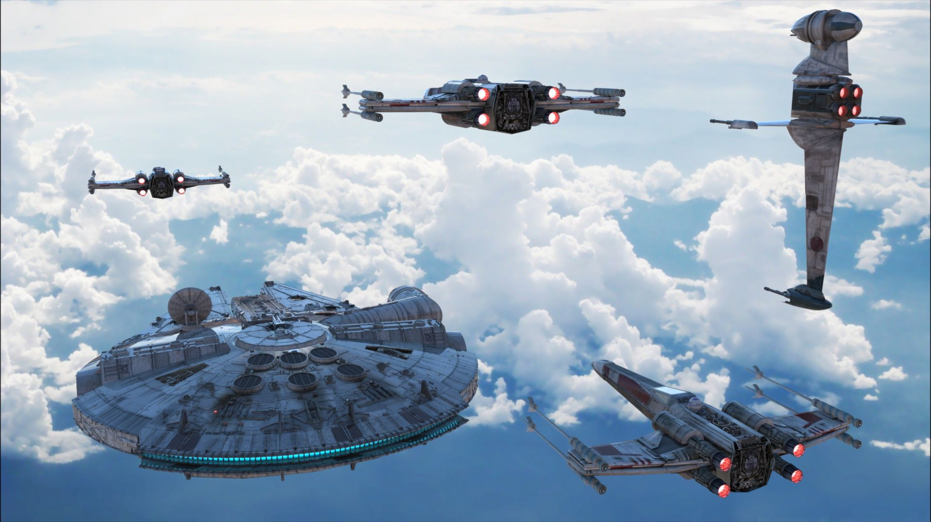 Bespin Patrol Tags Star Wars Geek 3D Art wallpaper starwars 1920x1078