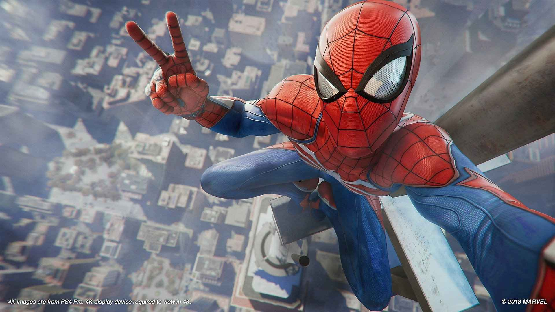 Spider Man PS4 Wallpaper   PlayStation Universe 1919x1080