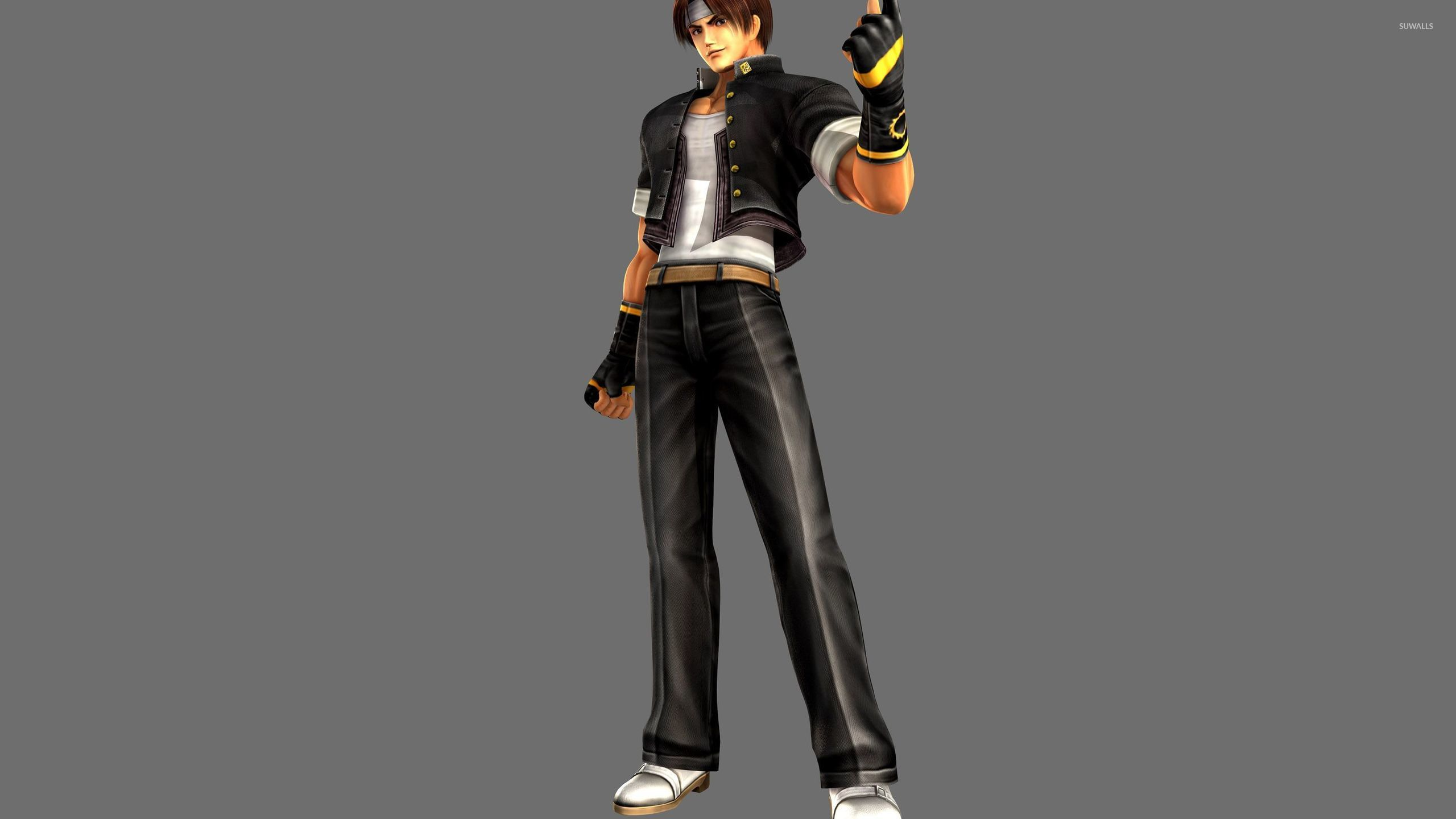 Kyo Kusanagi   The King of Fighters wallpaper   Game 2560x1440