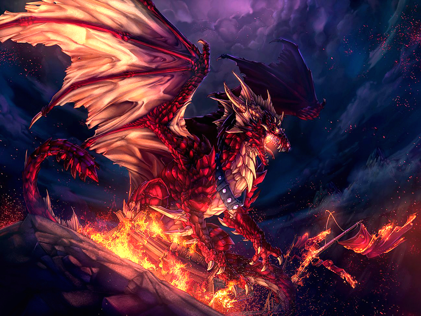 Cool Dragons 43 Wallpaper Background Hd With Resolutions 16001200 1600x1200