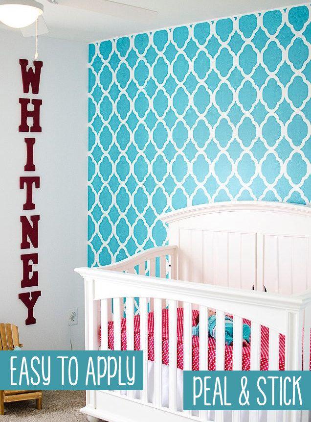 Removable selfadhesive vinyl Wallpaper wall by PatPrintbyAmy 6600 636x861