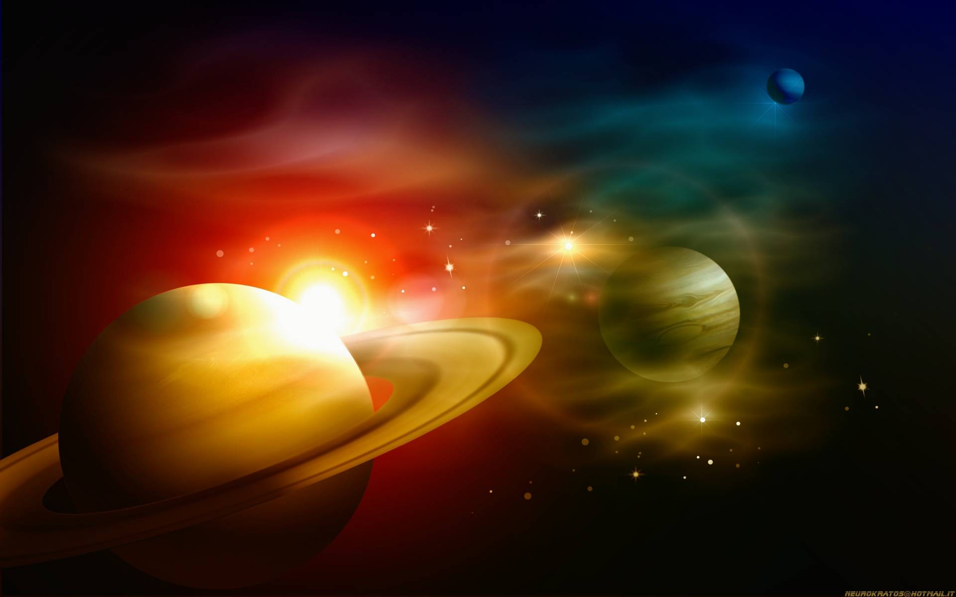 Planets wallpaper   790160 1920x1200