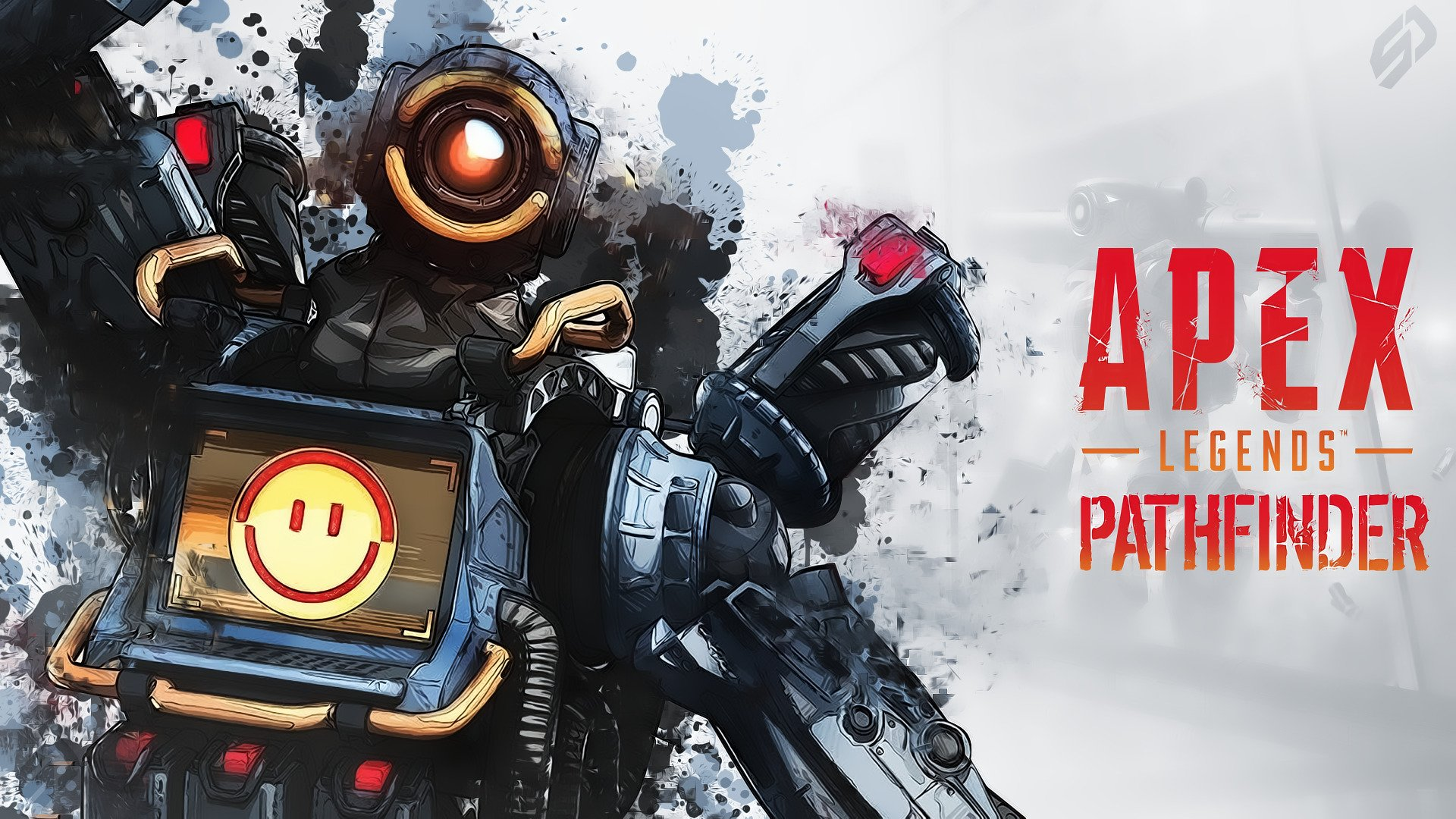 Pathfinder Apex Legends Game Robot by ShokoDesign 4537 Wallpapers 1920x1080