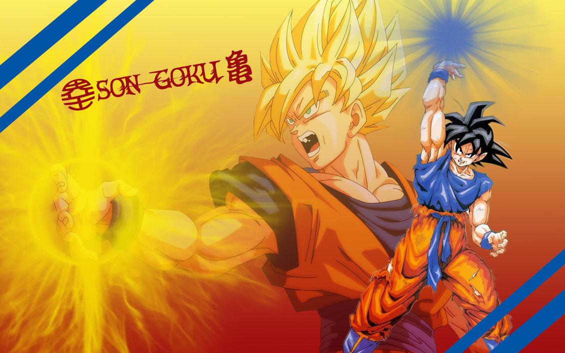 Son Goku Wallpaper by Yugoku chan 1131x707