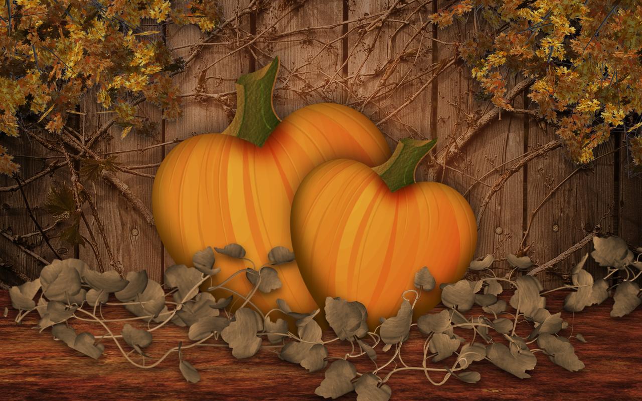 49 fall scene wallpaper with pumpkins on wallpapersafari - Fall wallpaper pumpkins ...