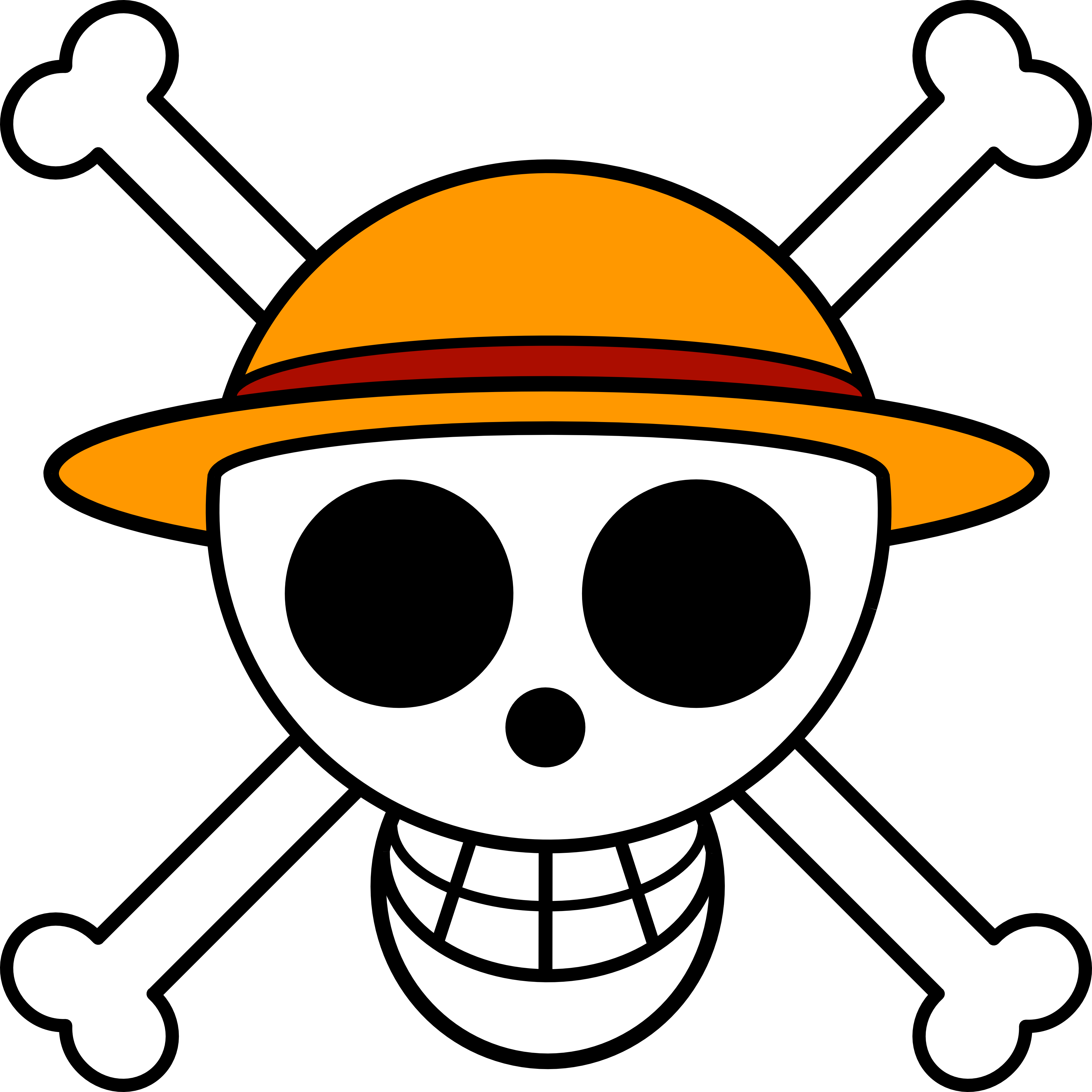 One Piece Logo HD Wallpapers 4000x4000