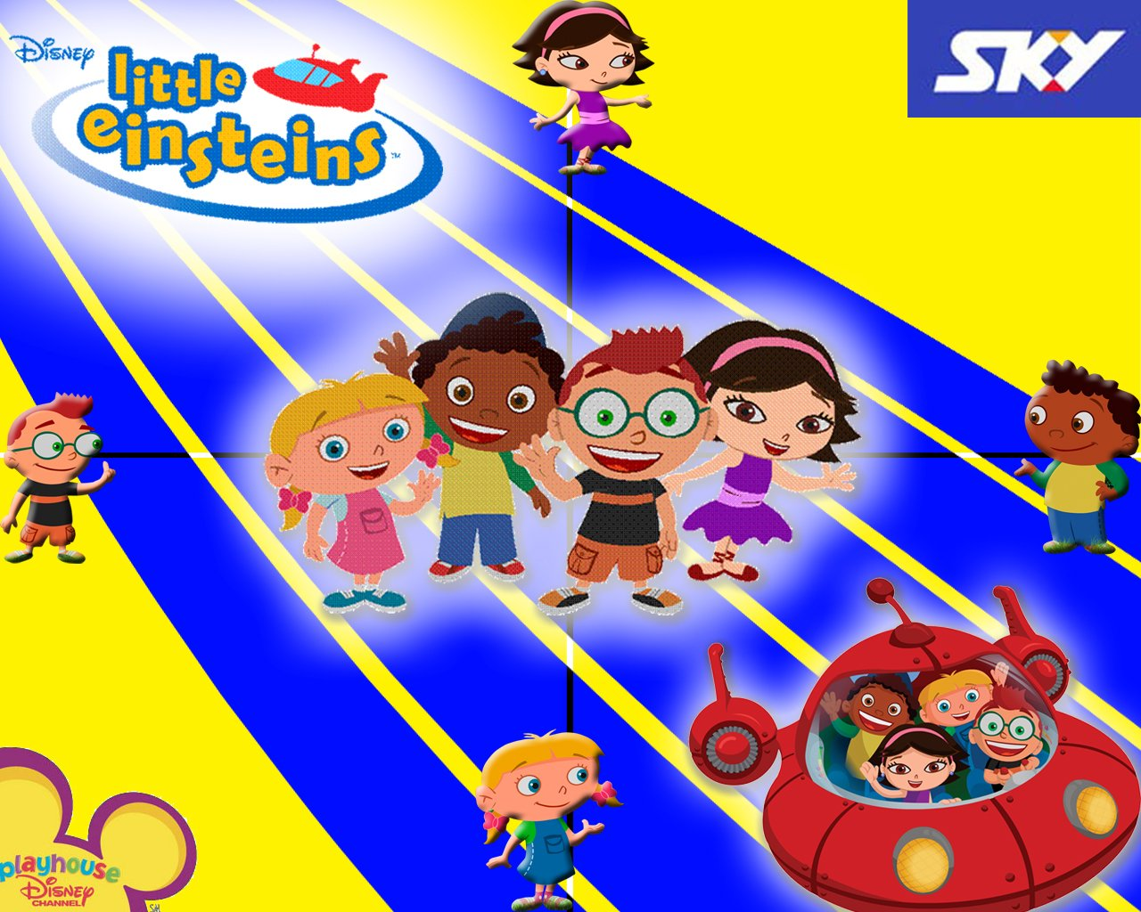 Little Einsteins Wallpaper Wallpapersafari