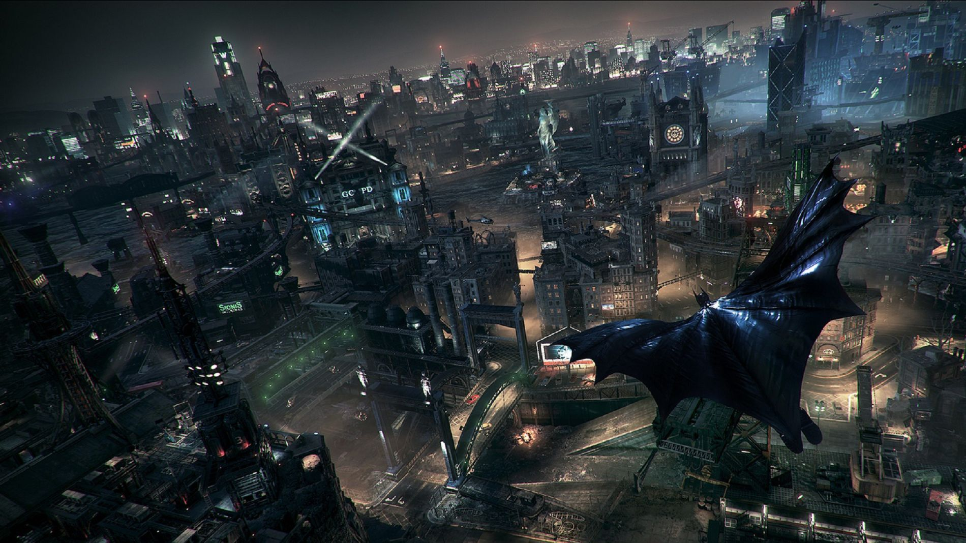 Batman Arkham Knight Hd Wallpaper Wallpapersafari