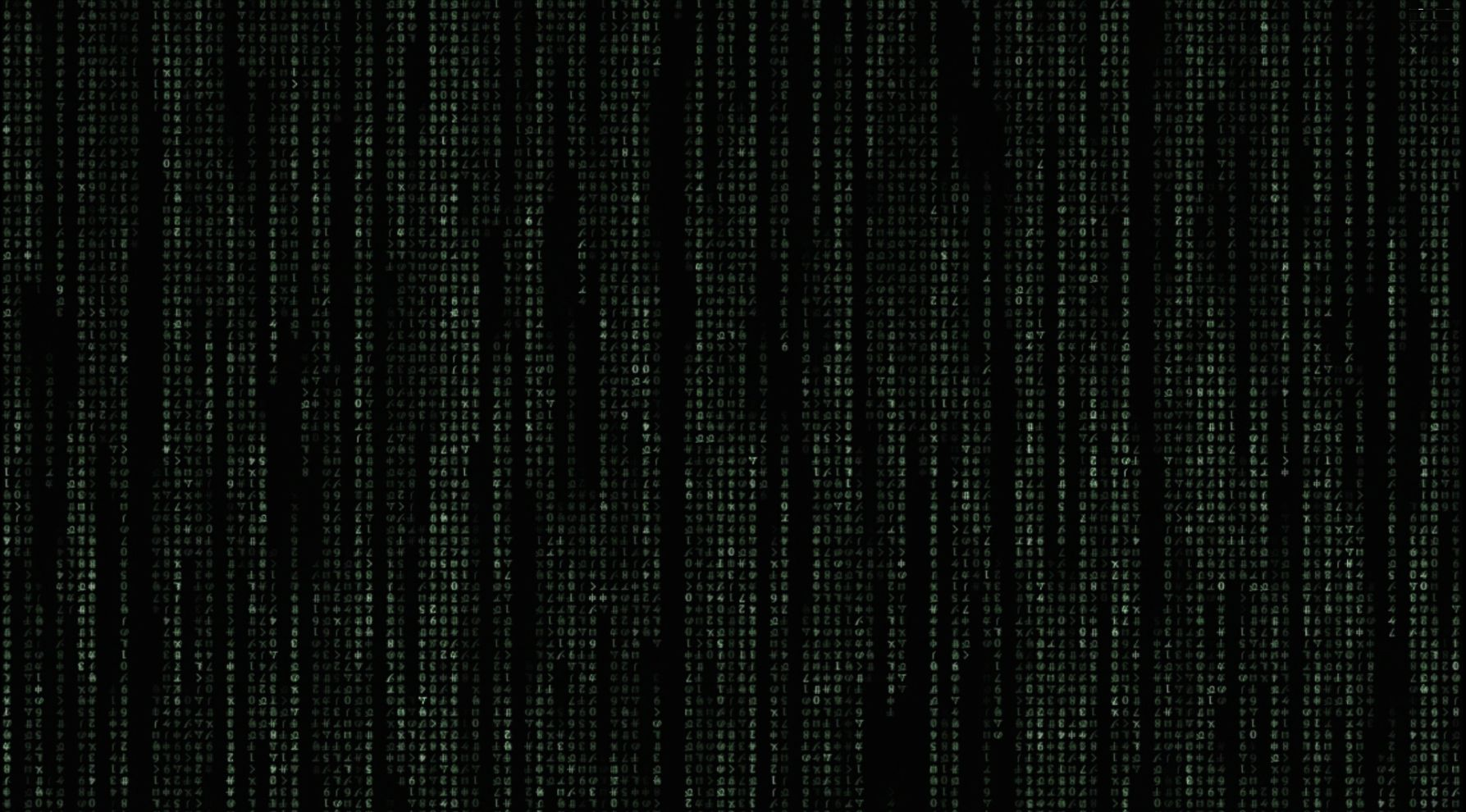 Animated Matrix Code AKA Dream scene Video and DL link in comments 1787x990