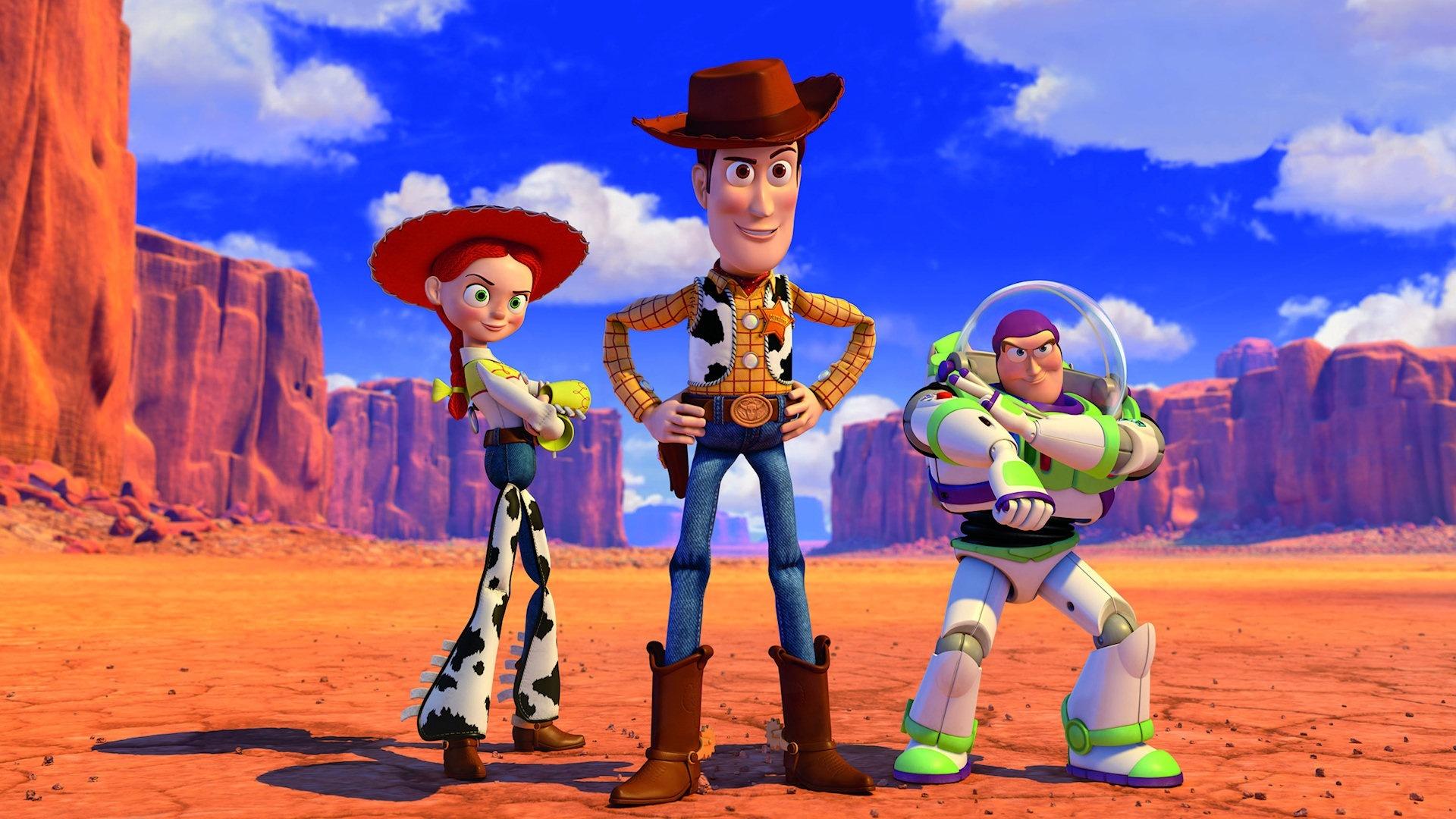 Free Download Sfondo Toy Story Jessie Woody Buzz 1920 X 1080