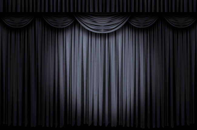 Black Curtain Wallpaper - WallpaperSafari