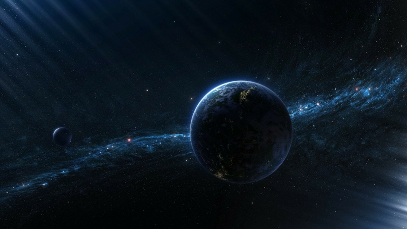 outer space planets digital art 1920x1080 wallpaper Space Planets 800x450