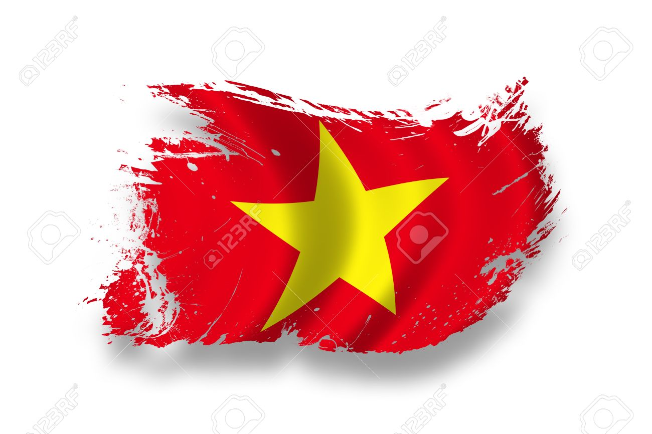 Flag Of Vietnam Stock Photo Picture And Royalty Image Image 1300x866