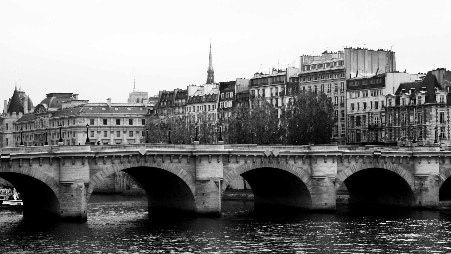 Black And White Paris Wallpaper Wallpapersafari
